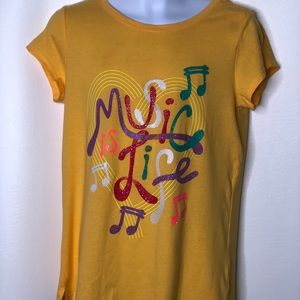 Gap Kids Girls Music is Life tee shirt